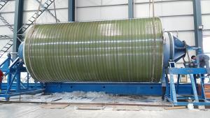 现场制作纤维增强复合材料大罐